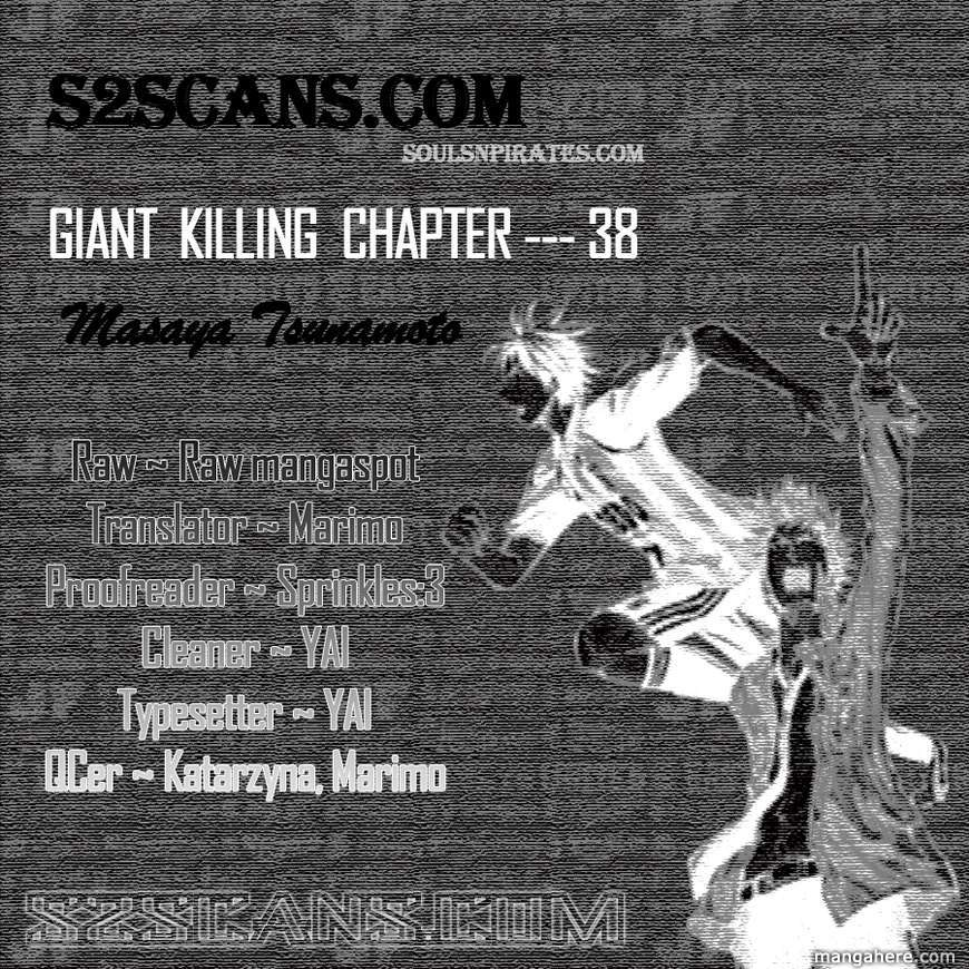Giant Killing 38 Page 1