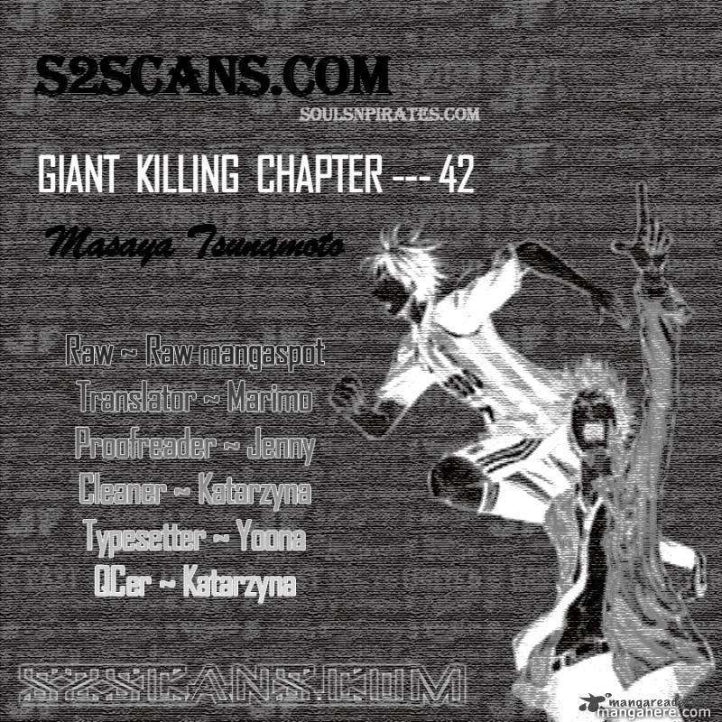 Giant Killing 42 Page 1