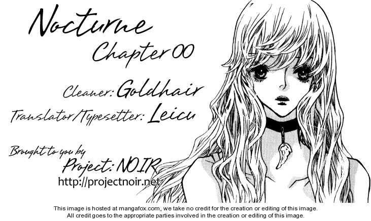 Nocturne (PARK Eun-Ah) 1.1 Page 1