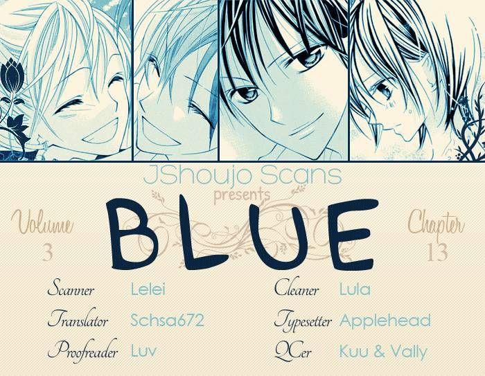 Blue (CHIBA Kozue) 13 Page 1
