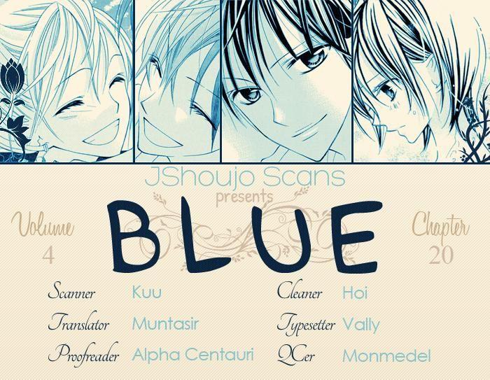 Blue (CHIBA Kozue) 20 Page 1