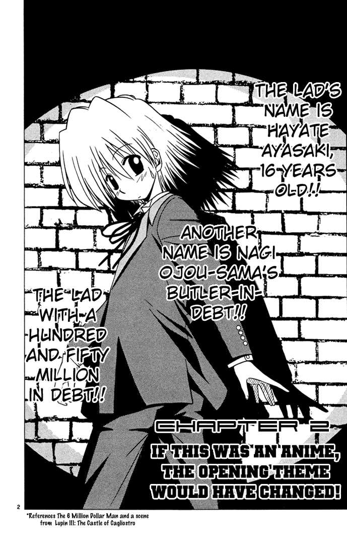 Hayate the Combat Butler 33 Page 2