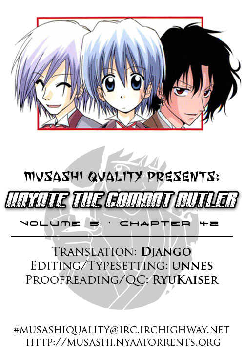 Hayate the Combat Butler 42 Page 1
