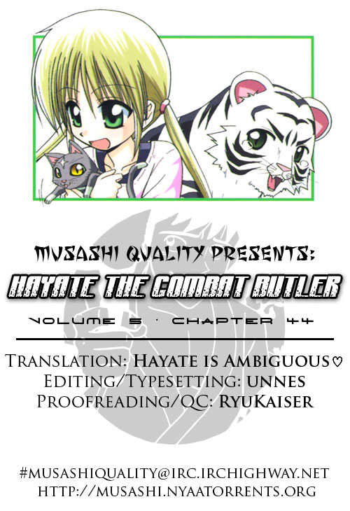 Hayate the Combat Butler 44 Page 1
