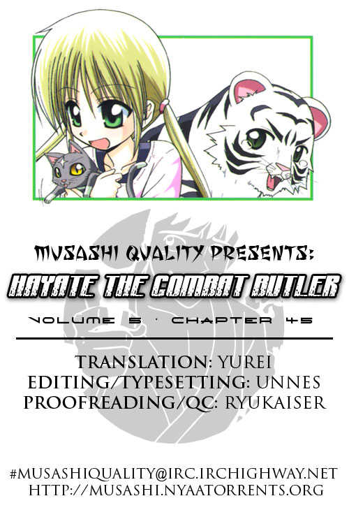 Hayate the Combat Butler 45 Page 1