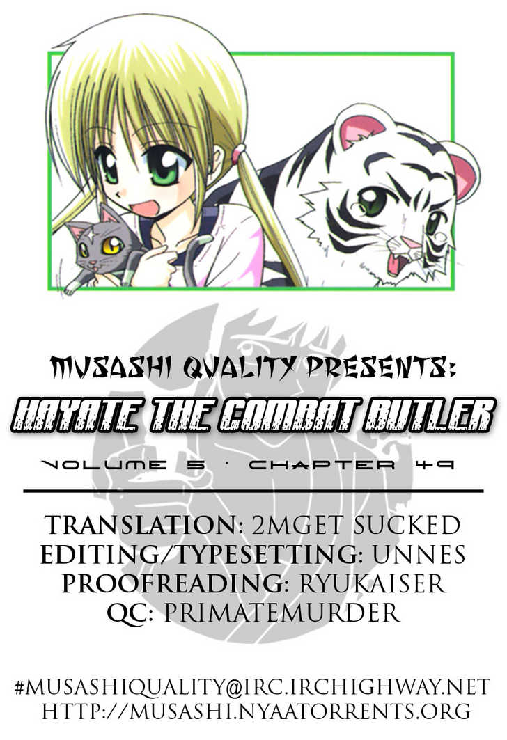 Hayate the Combat Butler 49 Page 1
