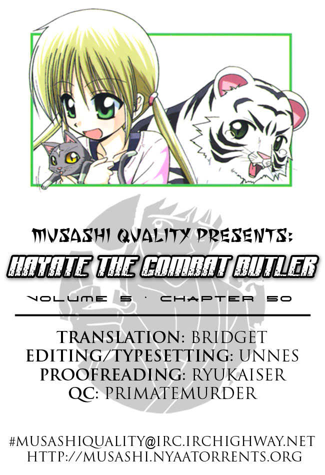 Hayate the Combat Butler 50 Page 1