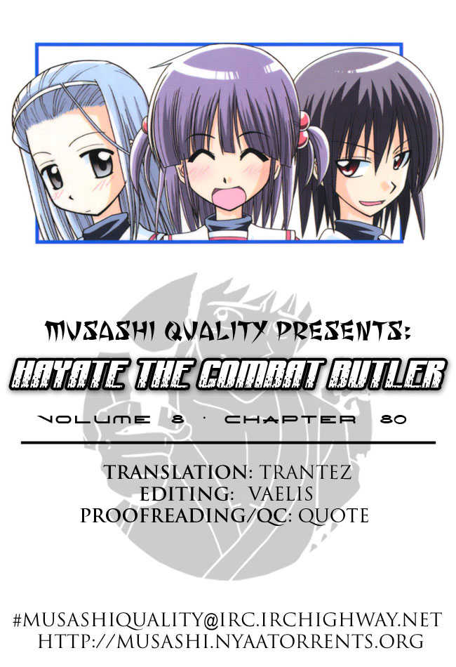 Hayate the Combat Butler 80 Page 1