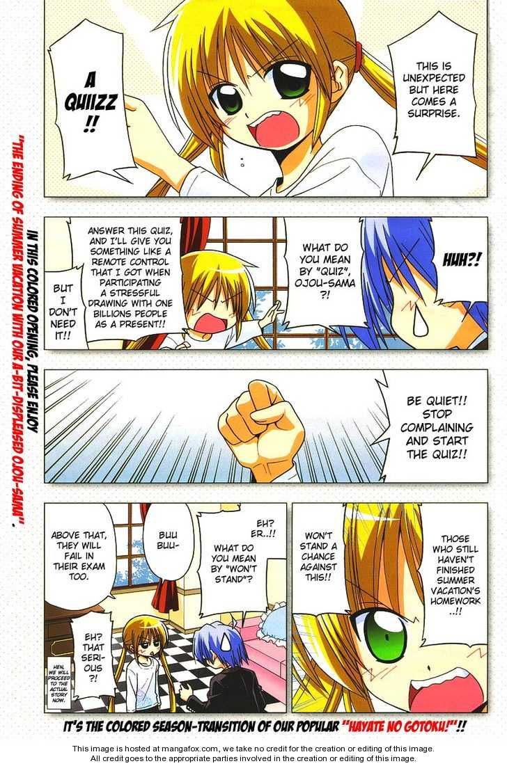 Hayate the Combat Butler 190 Page 1