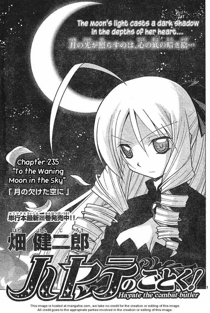 Hayate the Combat Butler 235 Page 1