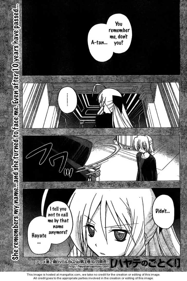 Hayate the Combat Butler 245 Page 1