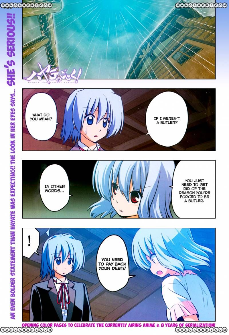 Hayate the Combat Butler 384 Page 3