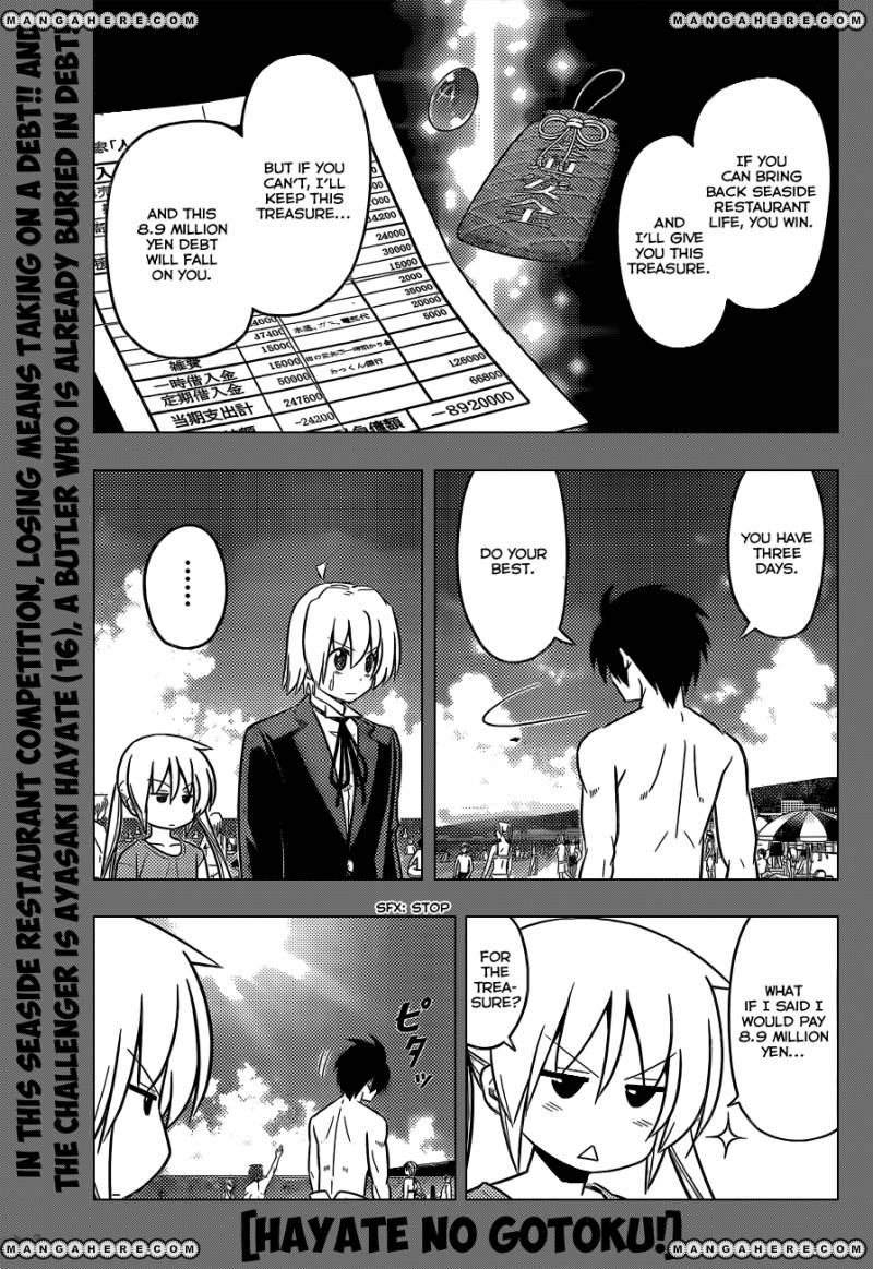 Hayate the Combat Butler 444 Page 2