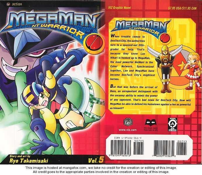 Megaman NT Warrior 1 Page 1