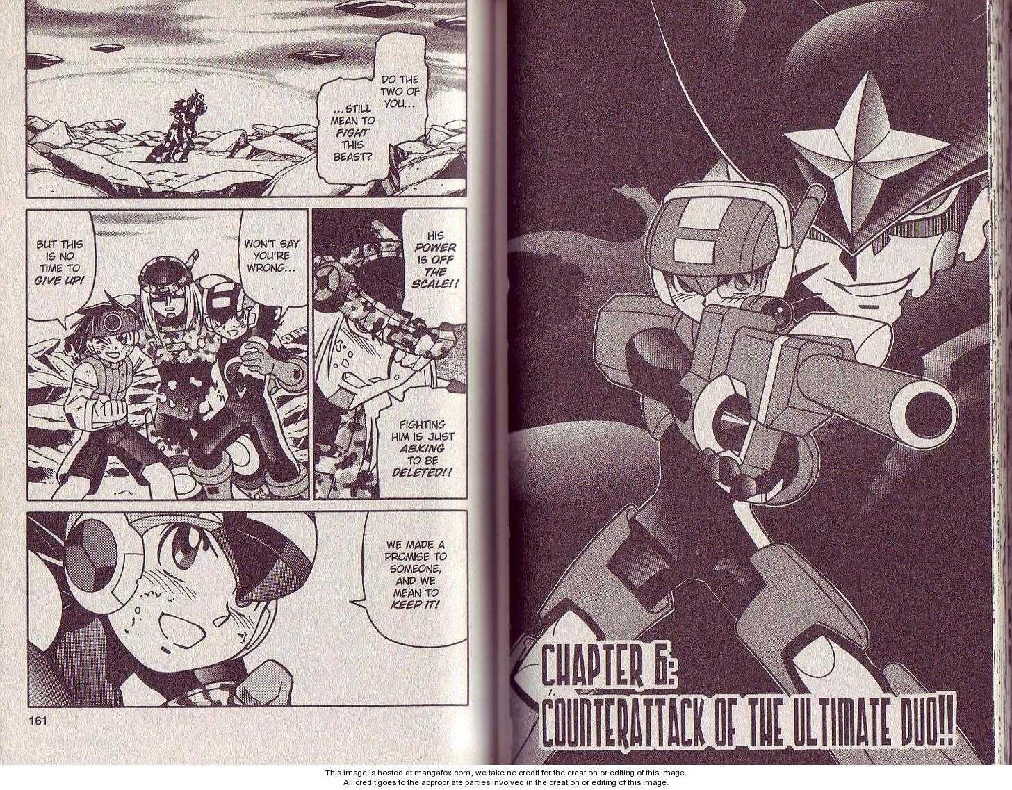 Megaman NT Warrior 6 Page 1