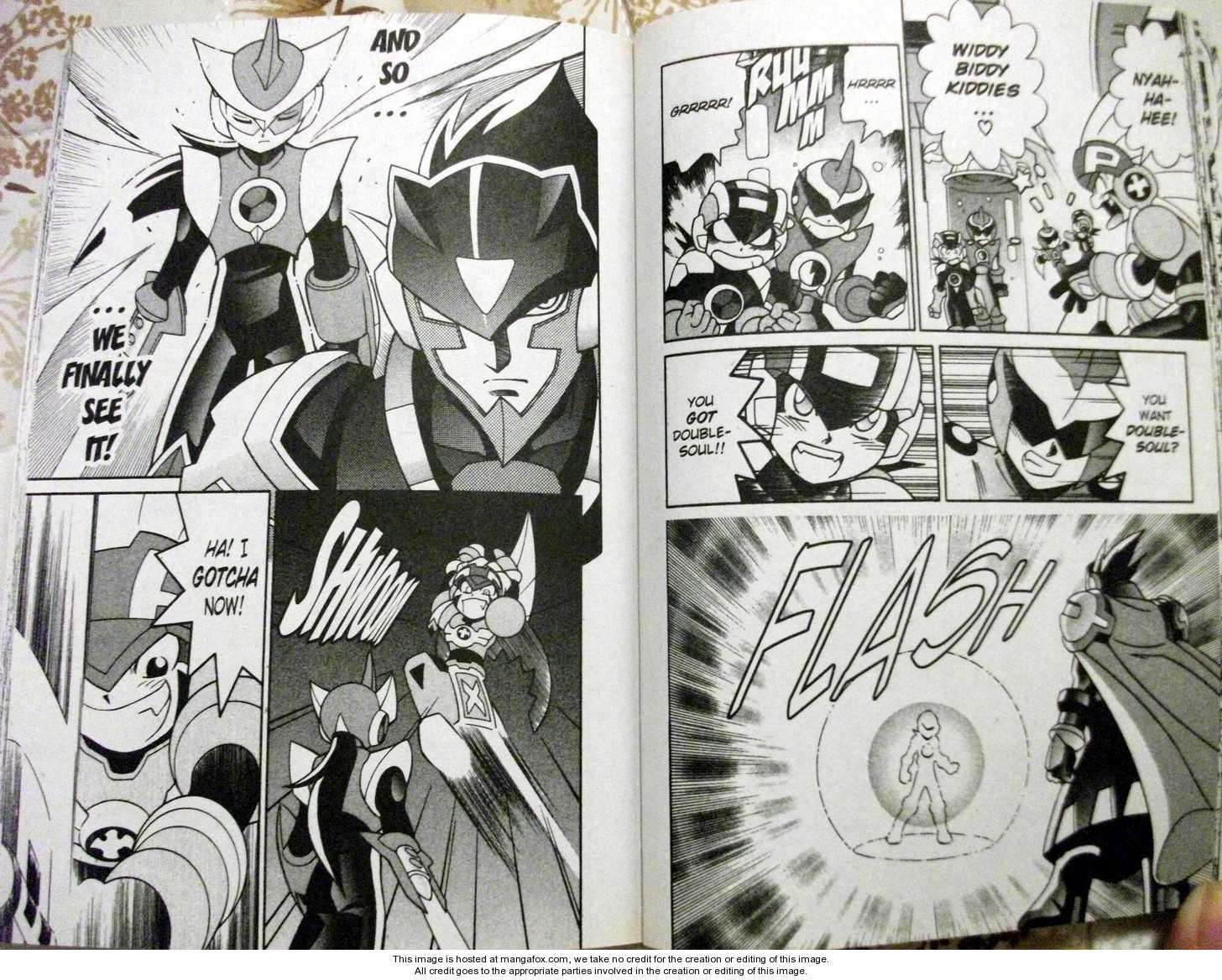 Megaman NT Warrior 5 Page 3