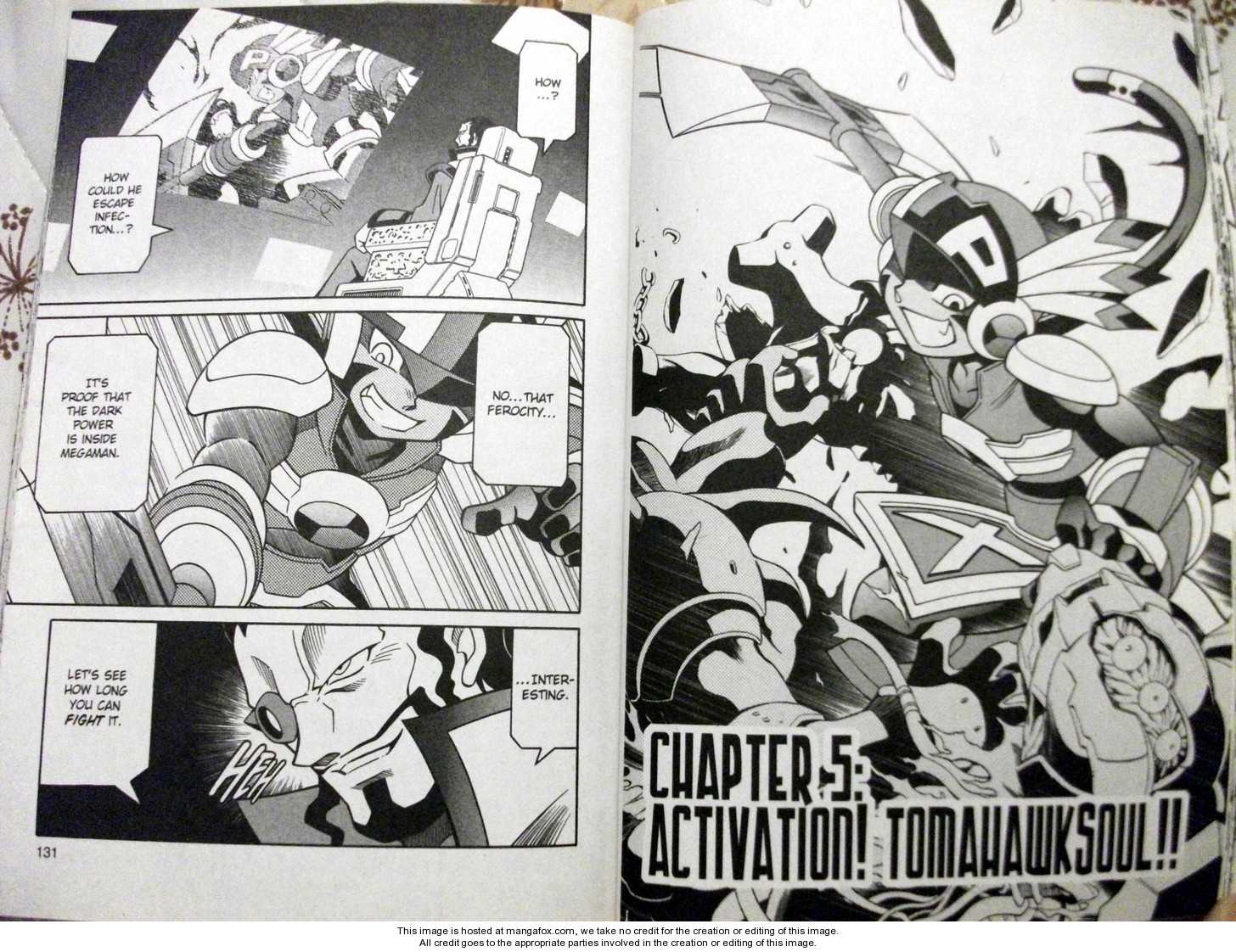 Megaman NT Warrior 5 Page 2