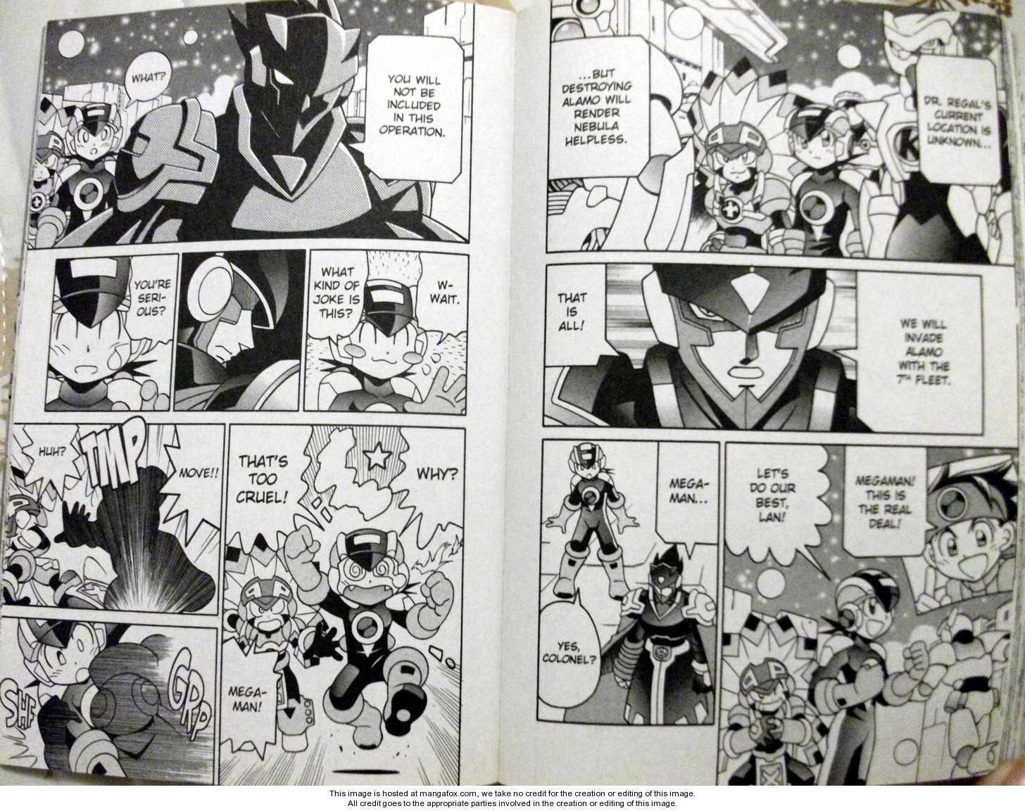 Megaman NT Warrior 6 Page 3