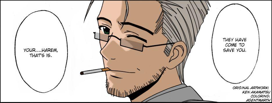 Mahou Sensei Negima! 142 Page 4