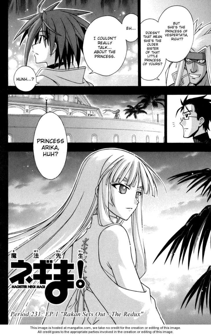 Mahou Sensei Negima! 231 Page 3