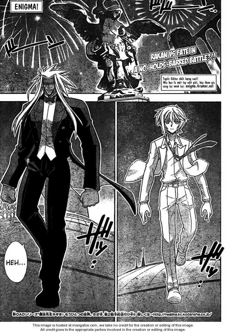 Mahou Sensei Negima! 259 Page 1