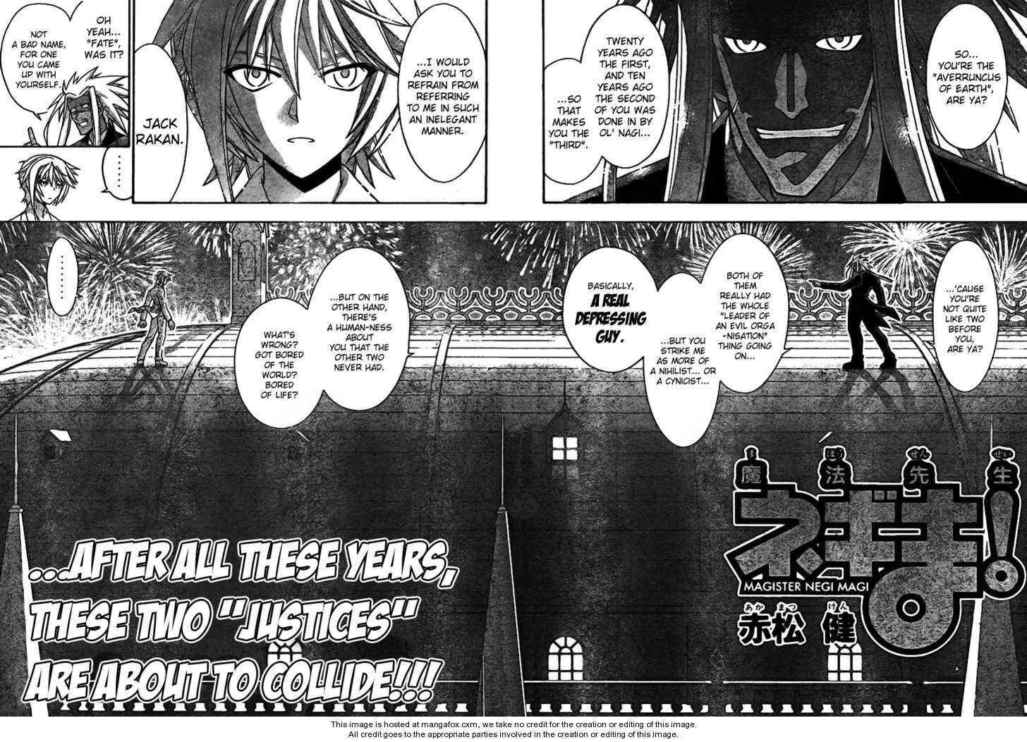 Mahou Sensei Negima! 259 Page 2