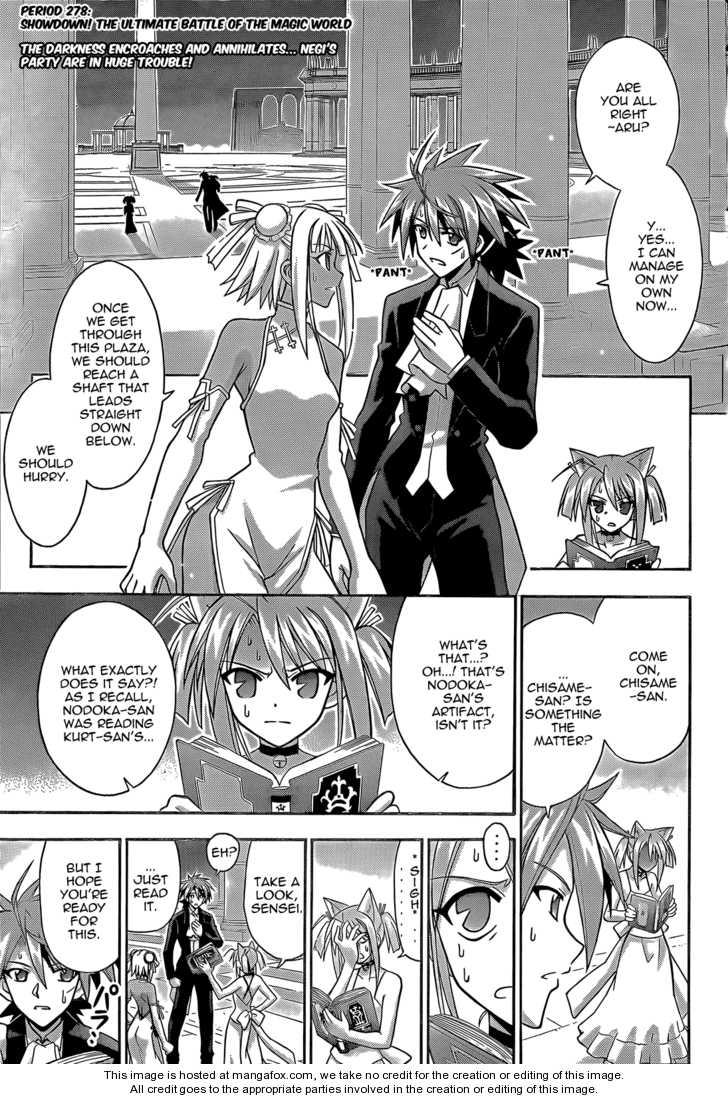 Mahou Sensei Negima! 278 Page 3
