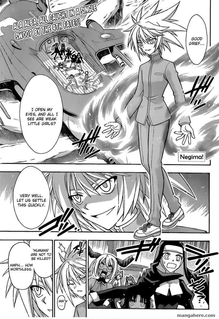 Mahou Sensei Negima! 312 Page 1