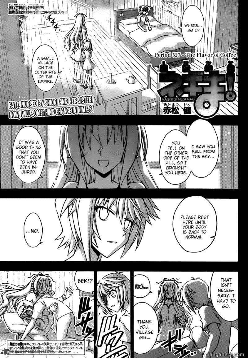 Mahou Sensei Negima! 327 Page 2