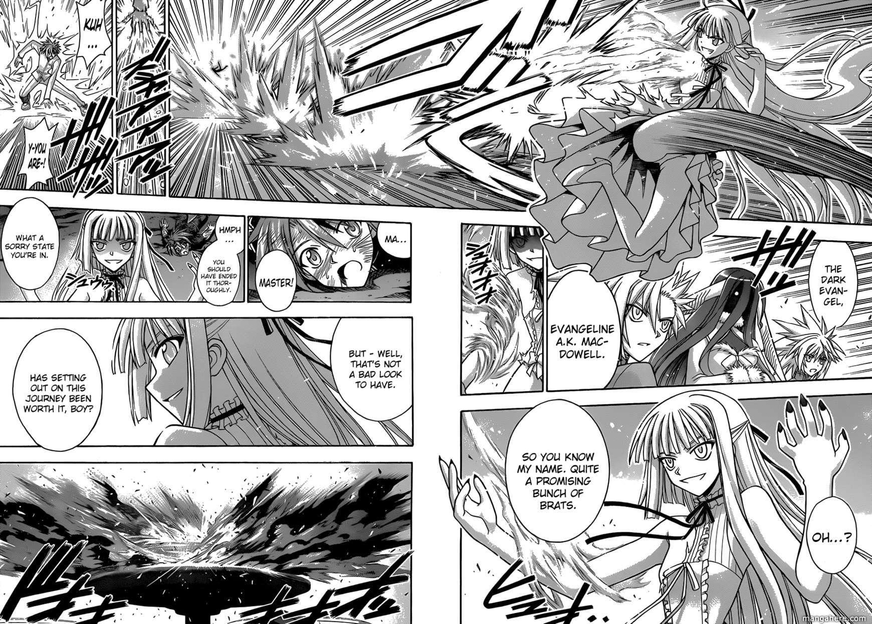 Mahou Sensei Negima! 331 Page 3