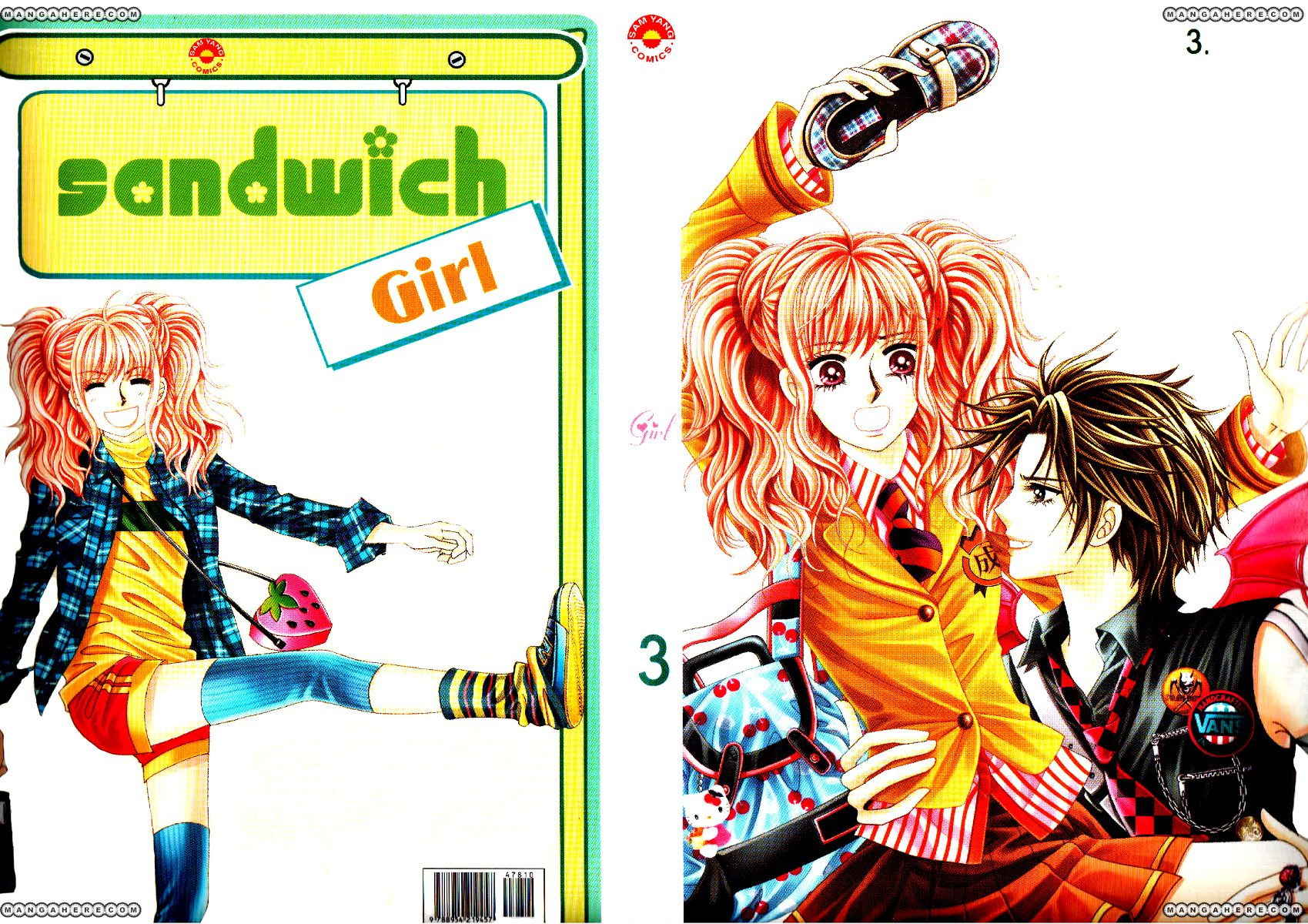 Sandwich Girl 11 Page 1
