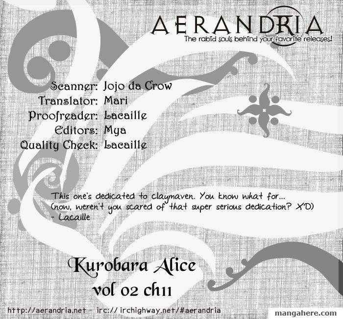 Kurobara Alice 11 Page 2