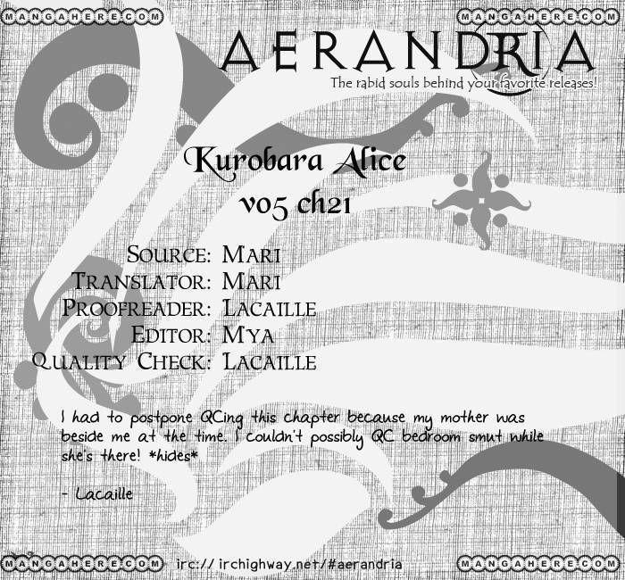 Kurobara Alice 21 Page 2