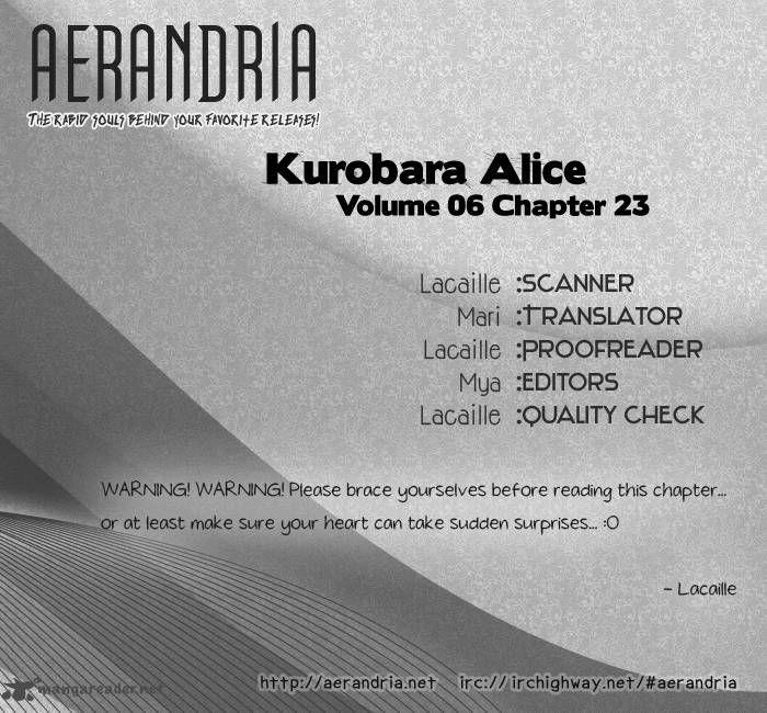 Kurobara Alice 23 Page 2