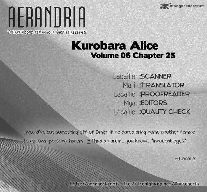 Kurobara Alice 25 Page 1