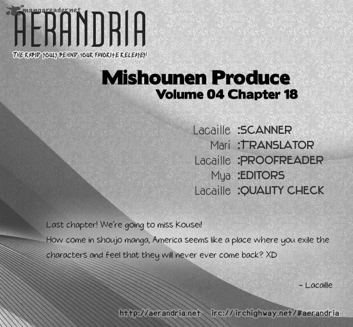 Mishounen Produce 18 Page 1
