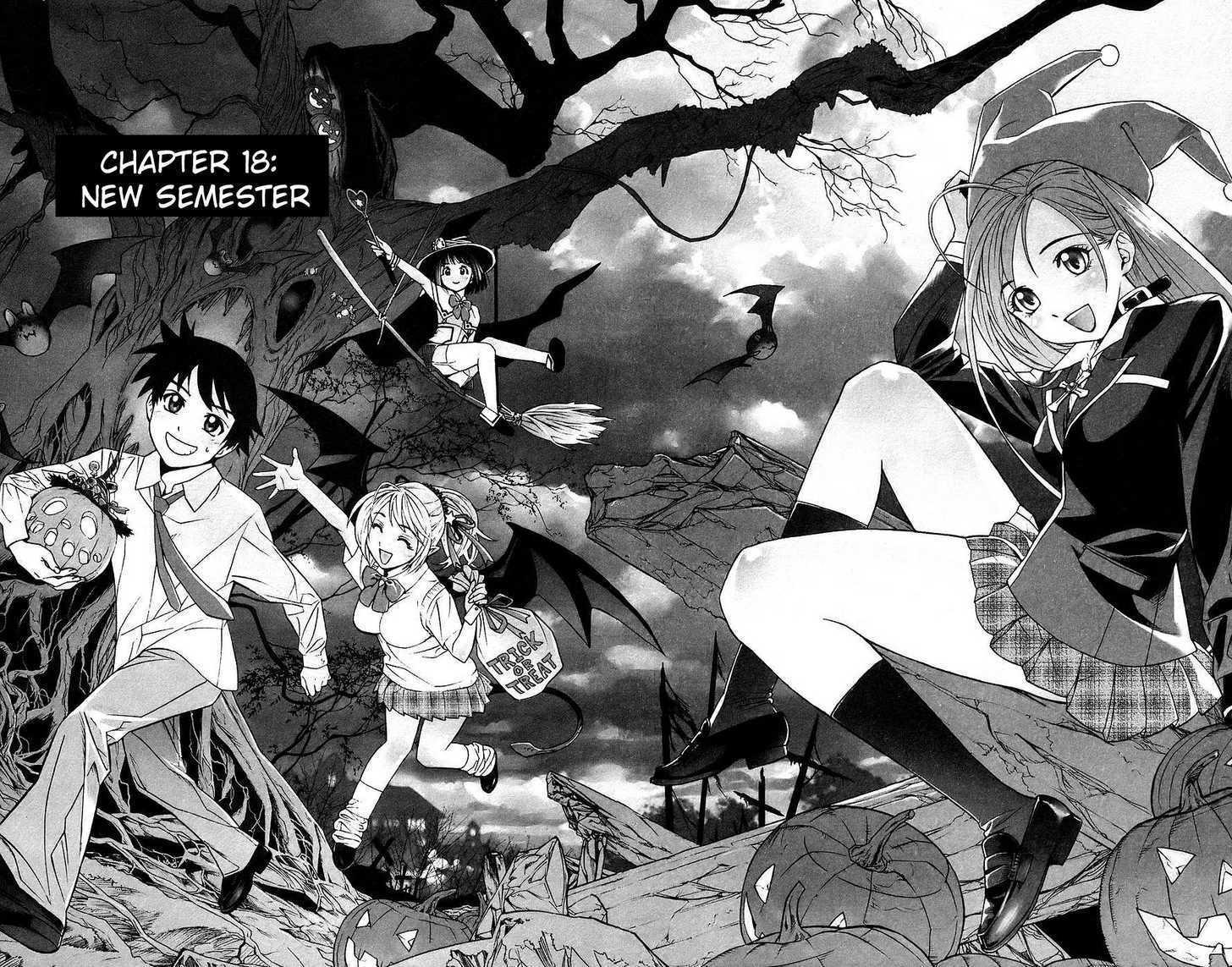 Rosario + Vampire 18 Page 1