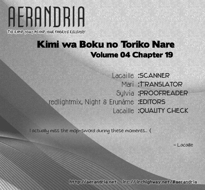 Kimi wa Boku no Toriko Nare 19 Page 2