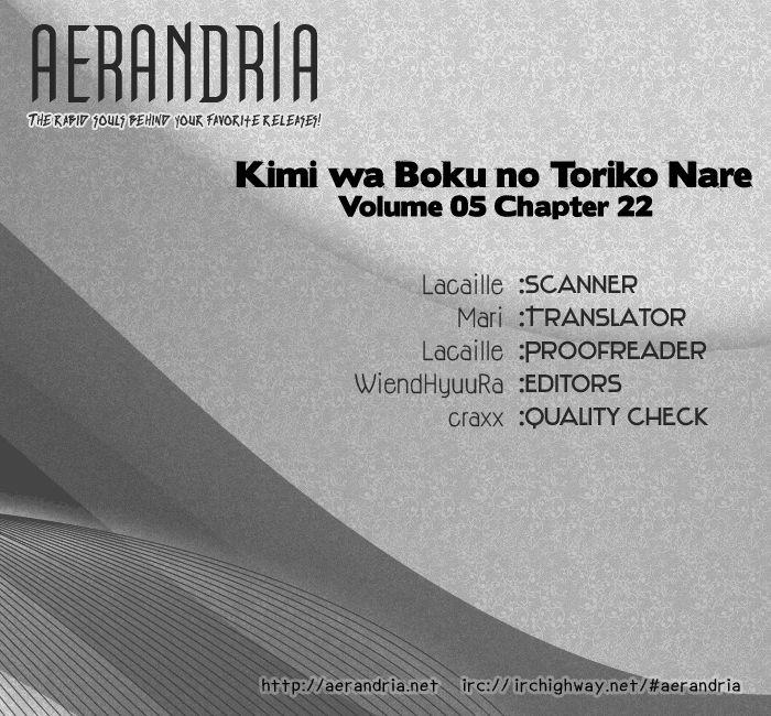 Kimi wa Boku no Toriko Nare 22 Page 2