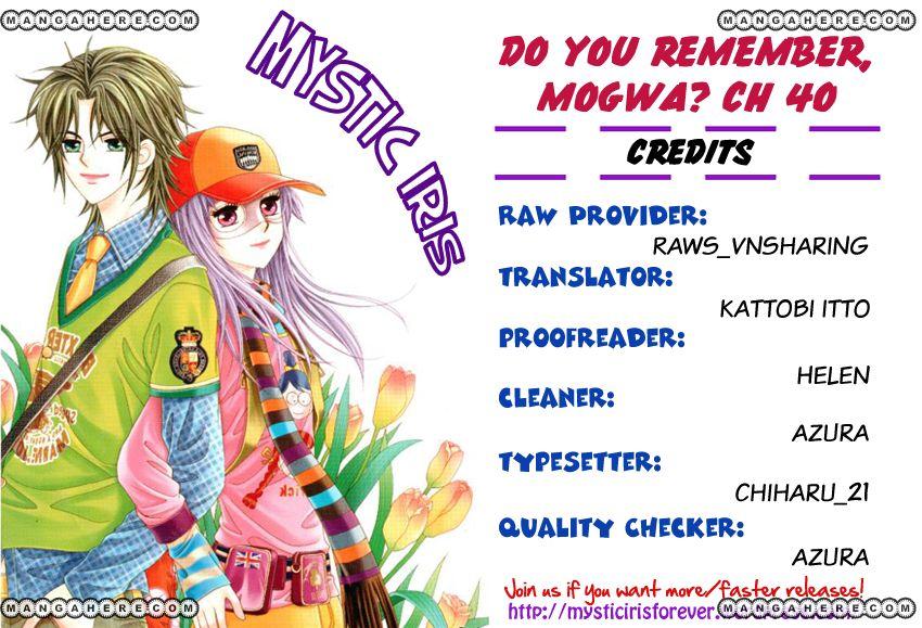 Do You Remember, Mogwa? 40 Page 1