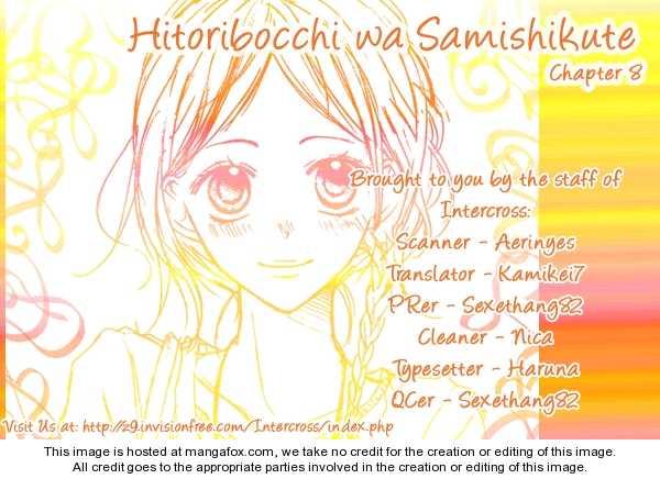 Hitoribocchi wa Samishikute 8 Page 2