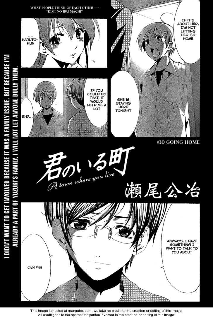 Kimi no Iru Machi 30 Page 1