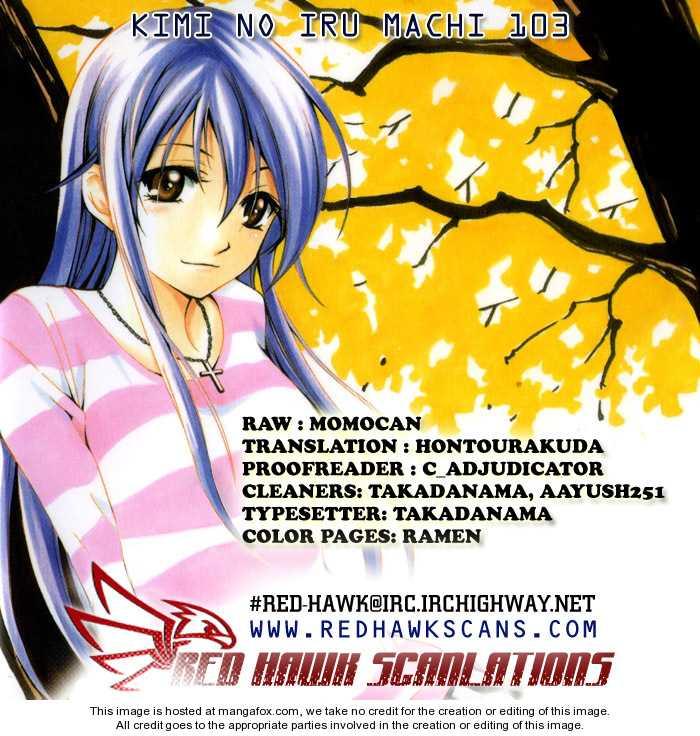 Kimi no Iru Machi 103 Page 1