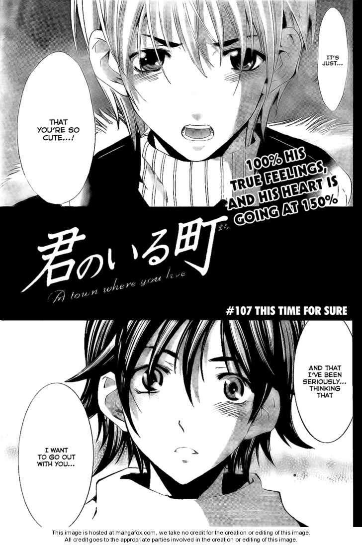 Kimi no Iru Machi 107 Page 2