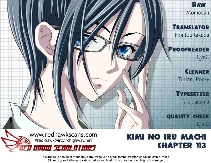 Kimi no Iru Machi 113 Page 1