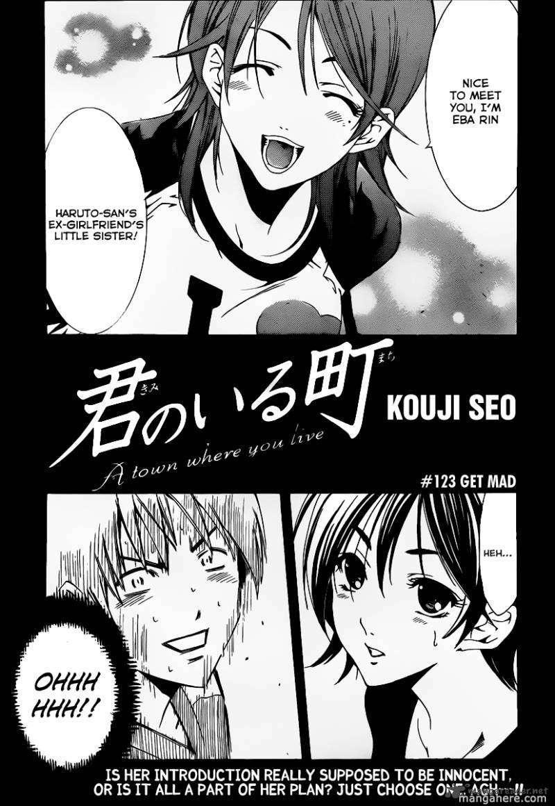 Kimi no Iru Machi 123 Page 2