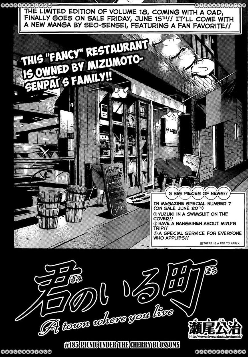 Kimi no Iru Machi 185 Page 2