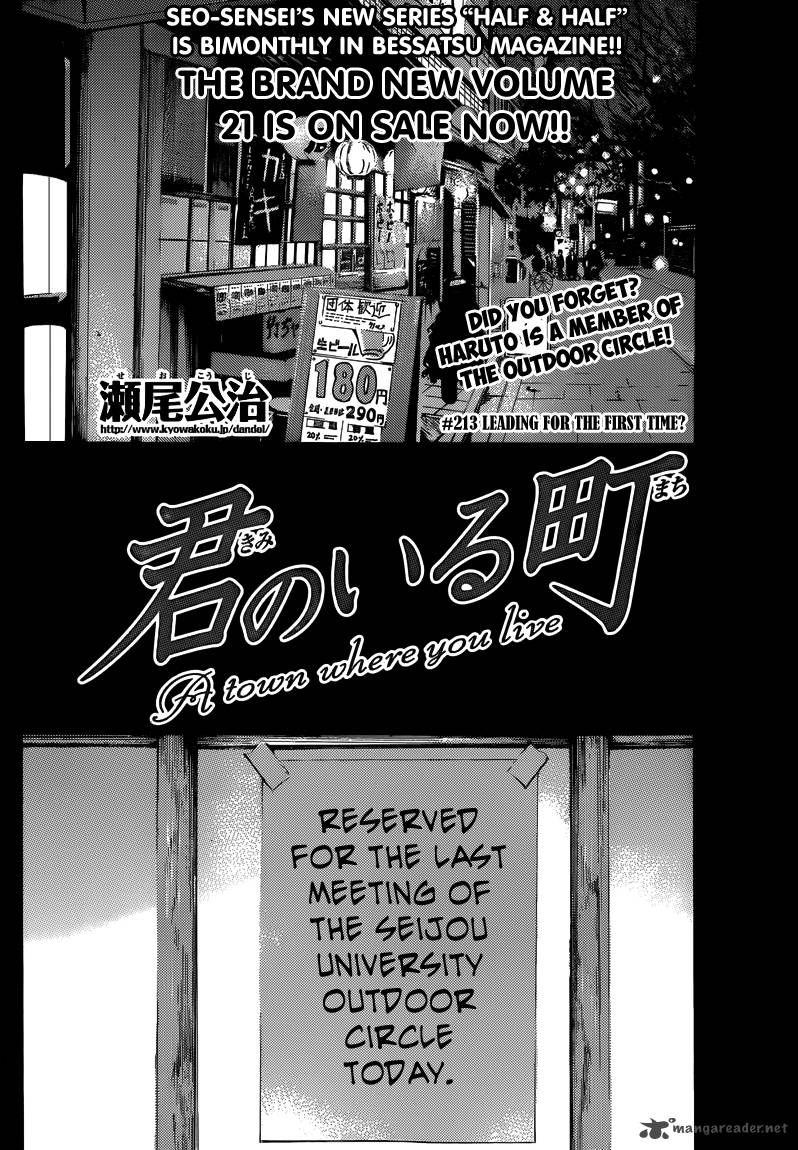 Kimi no Iru Machi 213 Page 2