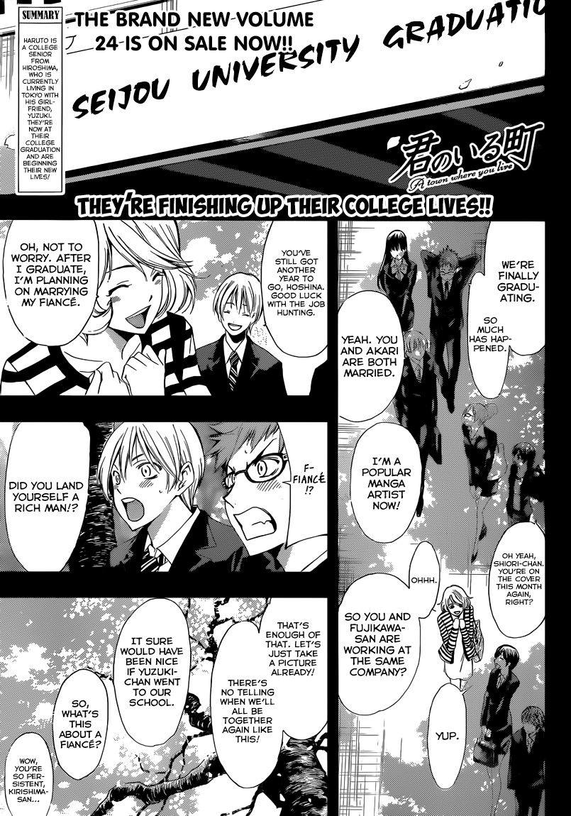 Kimi no Iru Machi 247 Page 2