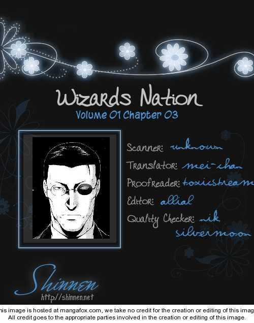 Wizards Nation 3 Page 1